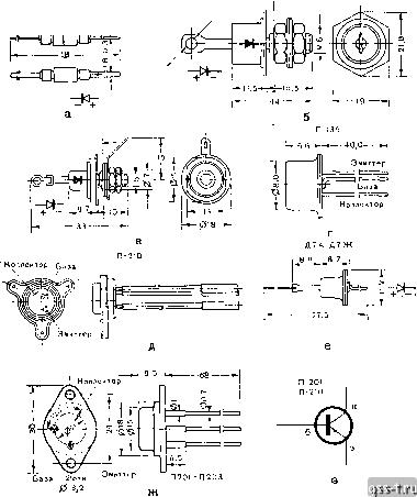 9 - транзистор П-210;