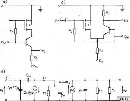 полевой транзистор,